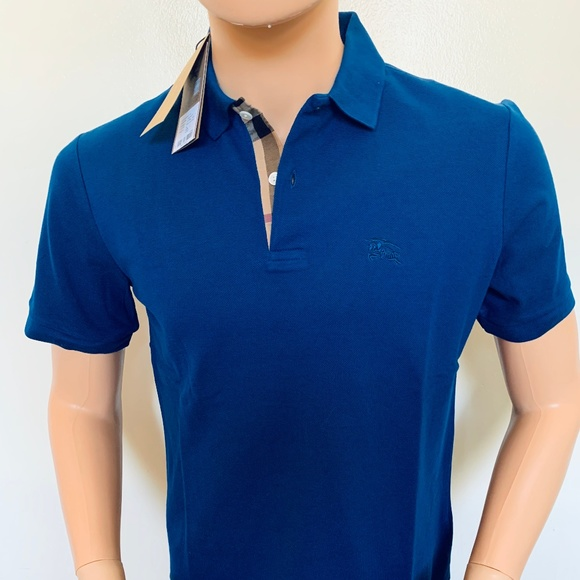 burberry polo shirts for men